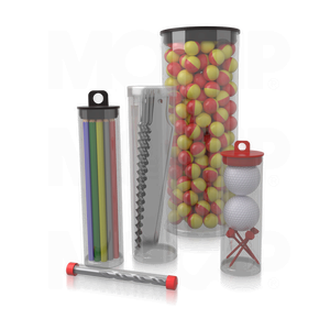 Cleartec Plastic Tubes for Use as Poster Tubes or Hanging Product